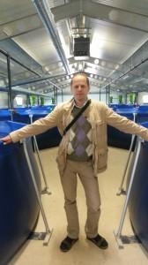 Запуск очередной, новой рыбной фермы в Европе