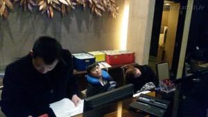 Ночная гостиница в Китае