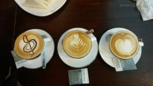 Красиво оформлено кофе