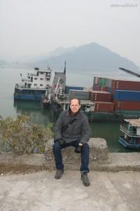 Судоходная река в Китае