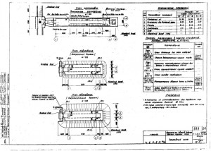 Проект бомбоубежища 35 м2 из звеньев водопропускных круглых труб