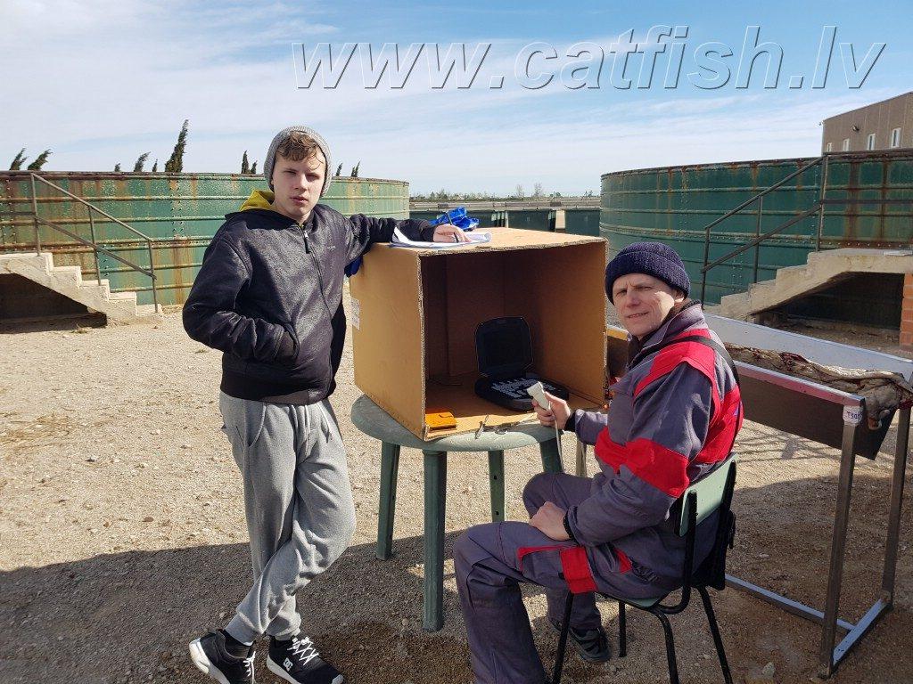 Виктор и Василий с узи аппаратом